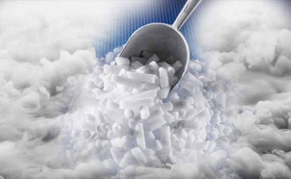 Παράδοση Ξηρού Πάγου Στην Ελλάδα